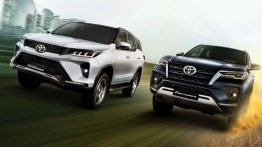 2021 Toyota Fortuner Facelift Variants Explained; Detailed Features List