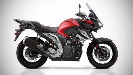 Yamaha FZ-X rendered - Here's how the alleged ADV tourer could look like