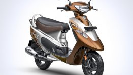 TVS Scooty Pep+ Mudhal Kadhal Edition launched only in Tamil Nadu