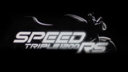 2021 Triumph Speed Triple 1200 RS teased; global unveil date announced