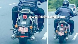 New 650cc Royal Enfield Cruiser testing continues; prototype spied again