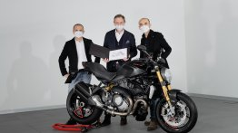 Ducati achieves new sales milestone; 350,000th unit of Monster delivered