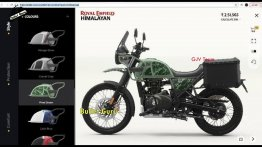 2021 Royal Enfield Himalayan Price & Colours Leaked Ahead of Launch