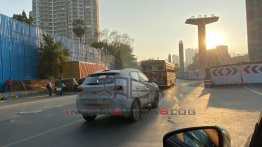 MG ZS Petrol (Kia Seltos-rival) Spied On Test in Mumbai
