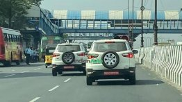 Ford Ecosport Spotted On Test Once Again; Turbo-Petrol Engine Launching Soon?