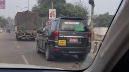 Tata Safari Storme Recently Spotted On Test - What's Happening?