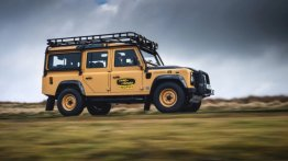 Limited-Edition Land Rover Defender Works V8 Trophy Revives The Original Legend