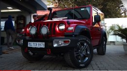 Mahindra Thar Tastefully Modified For Wrangler-Like Look By Azad 4x4