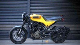 Husqvarna Vitpilen 250 Looks Sportier in Custom Yellow Colour