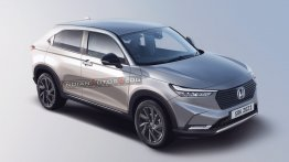 Second-Gen Honda HR-V Digitally Rendered Ahead Of Global Debut Tomorrow