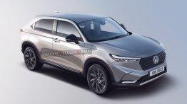 Second-Gen Honda HR-V Digitally Rendered Ahead Of Global Debut Tomorrow
