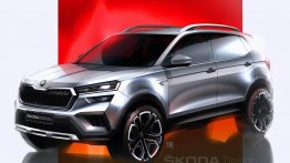 Production-Spec Skoda Kushaq Design Previewed Through New Sketch Images