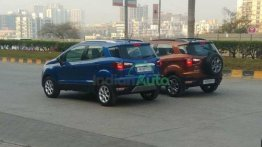 Upcoming Ford EcoSport SE Spotted Alongside Titanium Trim During Promo Shoot