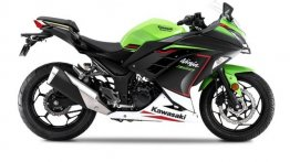 BS6 Kawasaki Ninja 300 Breaks Cover, to Launch Soon