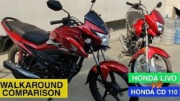 Honda CD 110 vs Honda Livo - Comparison of Commuters [Video]
