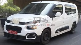 Citroen Berlingo MPV Spotted on Test with Minimal Camouflage
