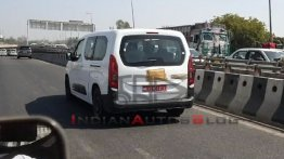 Citroen Berlingo MPV Spotted Testing In India Yet Again -Video