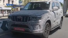 Here's Your Clearest Look At Next-Gen Mahindra Scorpio Yet