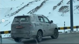 2021 Mahindra Scorpio Undergoes High Altitude Tests; AWD On Cards?