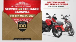 New Hero MotoCorp Service & Exchange Offers Announced
