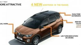 Renault To Update Triber With Dual-Tone Colors & More Features For MY2021