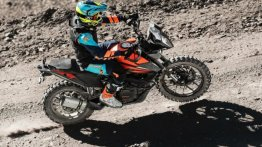 Ashish Raorane On A KTM 390 Adventure Sets World's Highest Hill Climb Record
