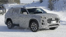 2022 Audi Q9 (BMW X7-rival) Spied Winter Testing