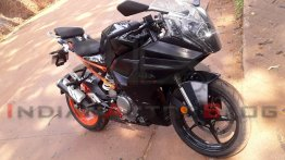 EXCLUSIVE! New KTM RC 390 Spied in India for 1st Time