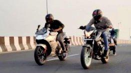 Bajaj Pulsar NS200 vs Suzuki Gixxer SF 250 - Naked vs Faired Drag Race