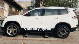 20-inch Wheels On New Tata Safari? They Sure Look Rad!