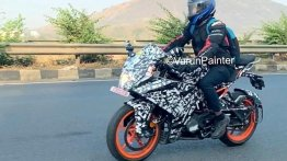 Upcoming KTM RC 200/RC 125 Spied in India Again
