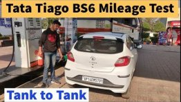 BS6 Tata Tiago With Manual Gearbox Real World Mileage Tested