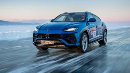 Lamborghini Urus Sets New Record-Breaking Top-Speed On Ice In Russia