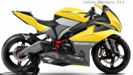 TVS NTorq Digitally Portrayed as Sportbike, Looks Fantastic