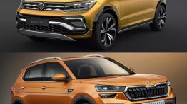 Skoda Kushaq vs Volkswagen Taigun - Exterior Design Compared