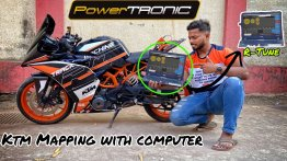 KTM RC 390 Tuned with PowerTRONIC Quick Shifter & ECU Remap - VIDEO