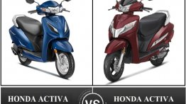 Honda Activa 125 Vs Activa 6G - Detailed Comparison
