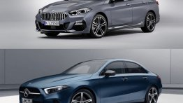 Battle of Entry-Level Luxury Sedans - BMW 2 GC vs Mercedes A-Class Limo