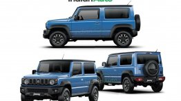 Suzuki Jimny Long-Wheelbase Rendered; To Underpin India-Spec 5-Door Model