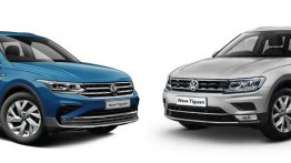 India-Spec Volkswagen Tiguan - Facelift vs Pre-Facelift Model