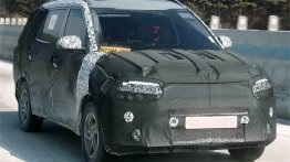 Kia's Next Offering In India Will Be A Mid-Size MPV - First Spy Images
