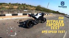Husqvarna Vitpilen 250 Top Speed Test - How Fast Can It Go? [Video]