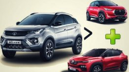 Tata Nexon Outsells Renault Kiger & Nissan Magnite Combined