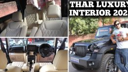 This Is The Most Luxurious Interior You'll See On A Modified Mahindra Thar