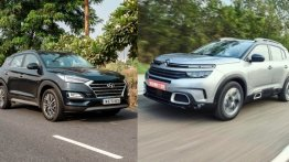 Citroen C5 Aircross vs Hyundai Tucson - Price and Spec Comparison