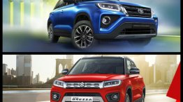 Maruti Vitara Brezza Sells More Than Three Times The Toyota Urban Cruiser