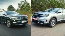 Citroen C5 Aircross vs Jeep Compass - Price and Spec Comparison