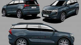 Mahindra XUV700 360 Degree View Digitally Imagined - IAB Rendering