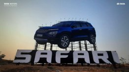 2021 Tata Safari Gets Country's Largest Billboard at Mumbai Pune Expressway