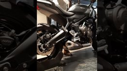 Triumph Trident 660 Exhaust Note - Listen to Inline 3-Cyl Symphony [Video]